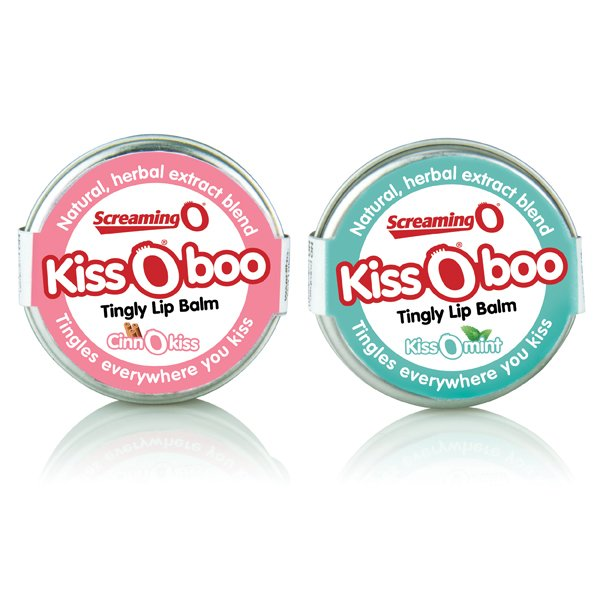 KissOboo Tingly Lip Balm - Zinful Pleasures
