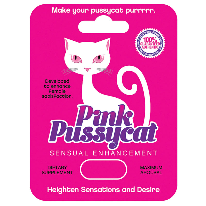 Pink Pussycat Pill - Zinful Pleasures