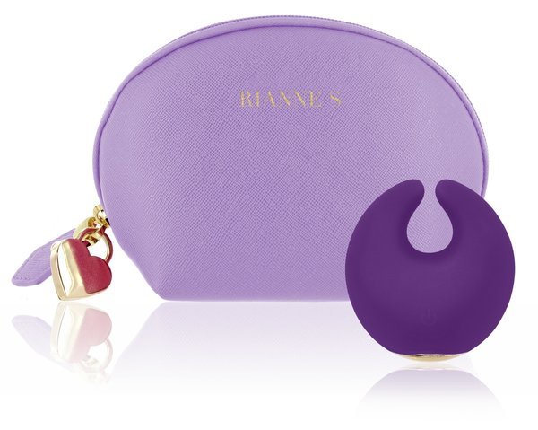 Rianne S Rechargeable Moon Vibe with Storage Bag - Zinful Pleasures