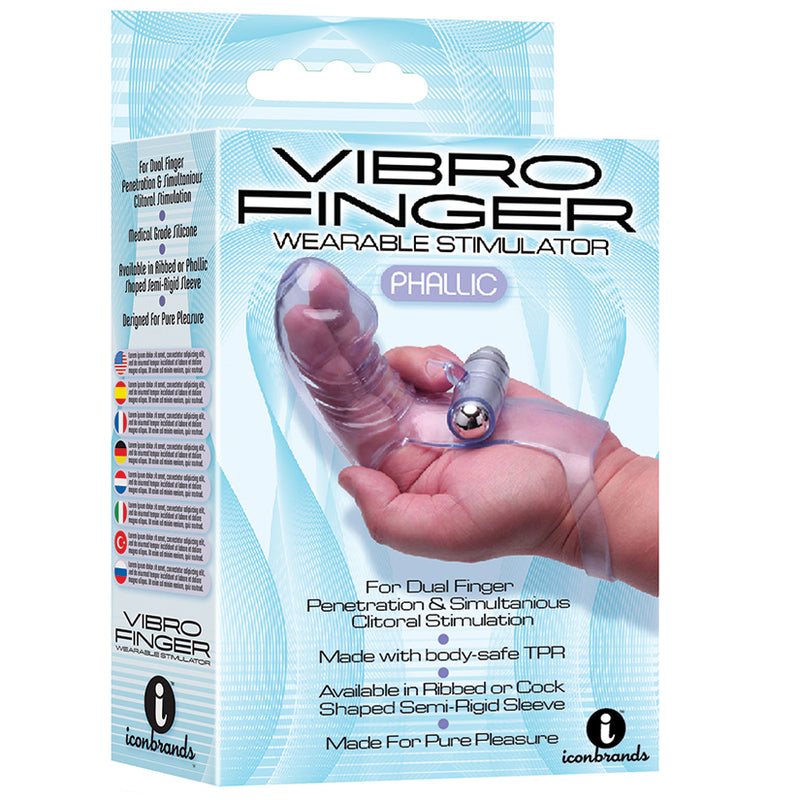 Vibrofinger Wearable Stimulator - Zinful Pleasures