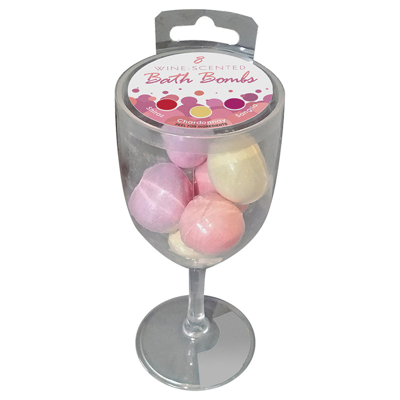 Wine Scented Bath Bomb Set - Zinful Pleasures