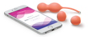 Bloom by We-Vibe App-Enabled Vibrating Rechargeable Kegel Training Set - Zinful Pleasures