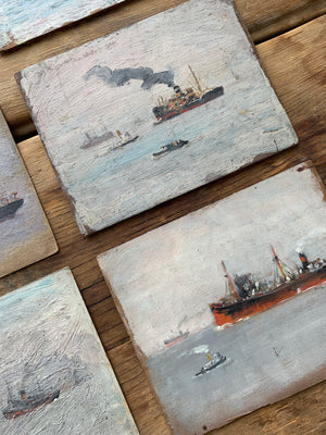 Seascapes & Skylines Oil Paintings