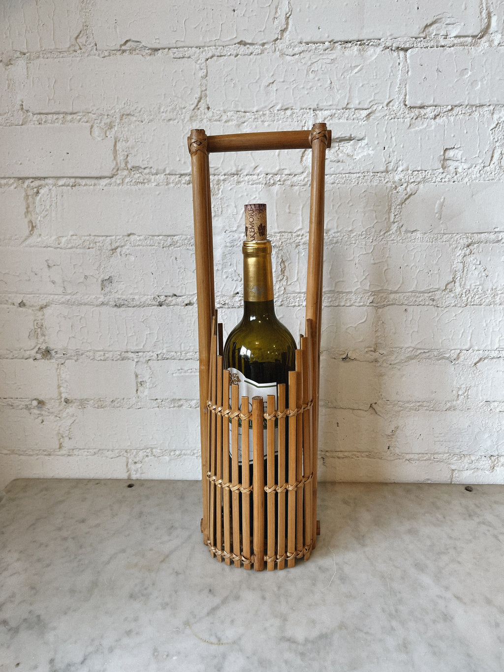 Bamboo Wine Carrier