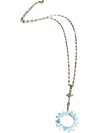 Breathtaking Opal pendant necklace set in 18k gold SOLD OUT