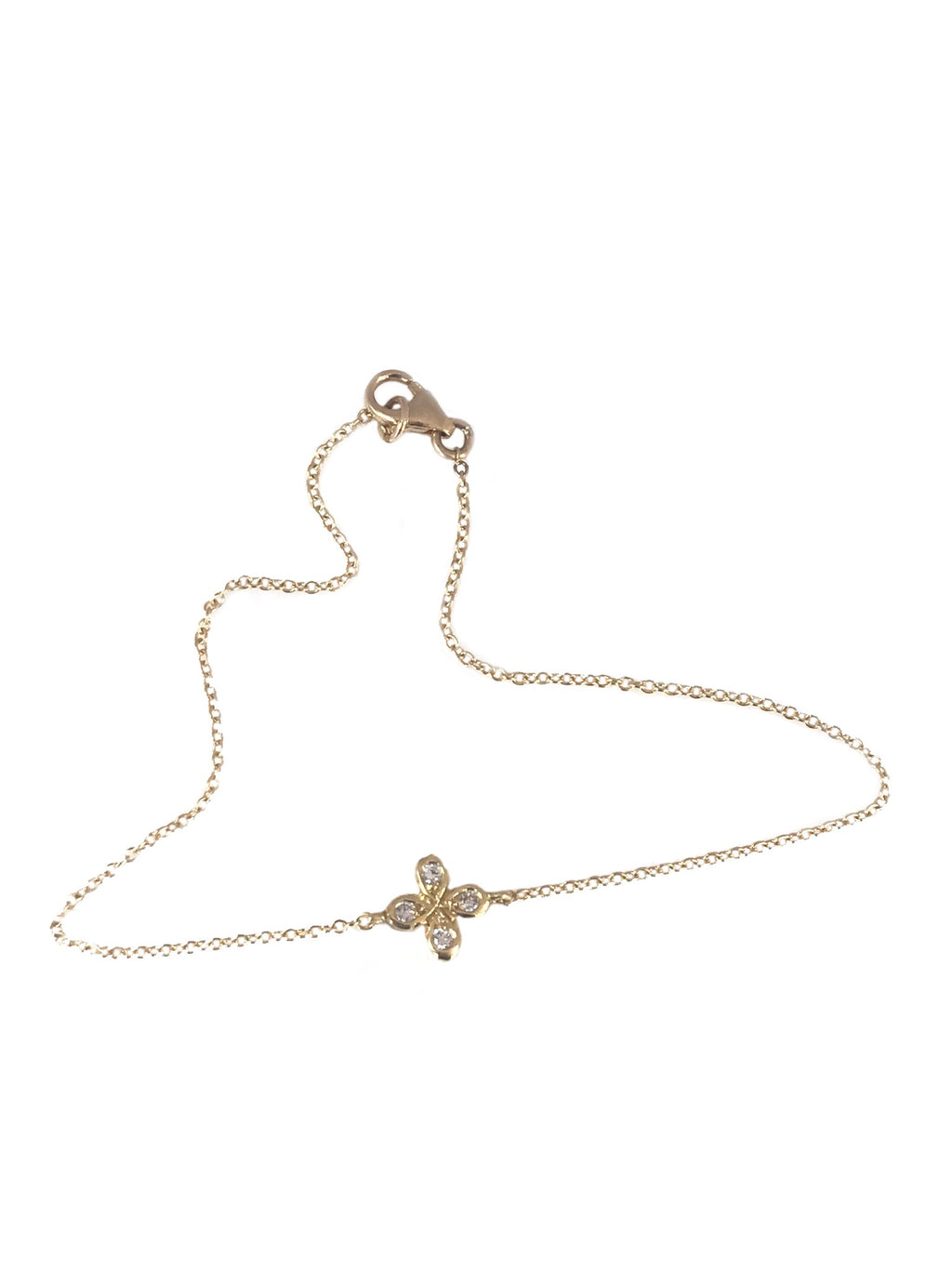 Oli and Tess floating flower bracelet