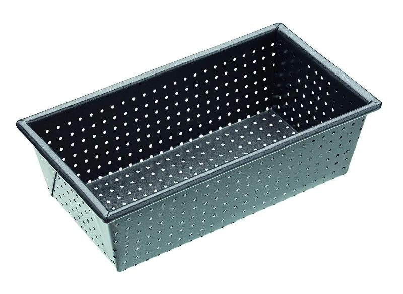 Crusty bake molde rectangular 21x11cm perforado