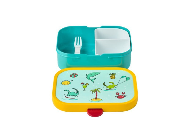 Lunch box abierta