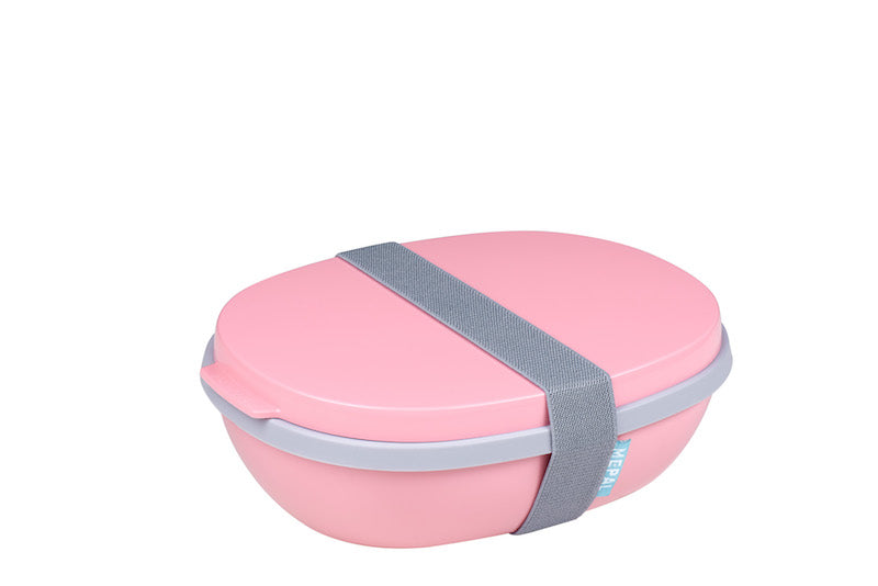 Lunchbox ellipse duo rosa nórdico