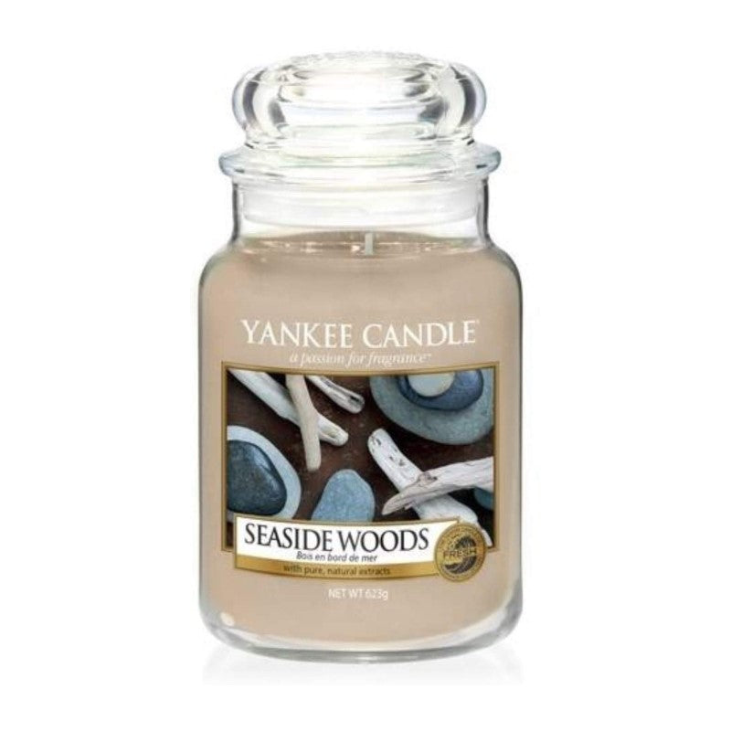 Vela en bote Seaside Woods Yankee Candle