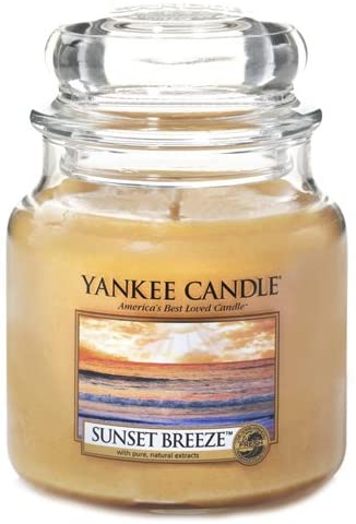 Vela en bote Sunset Breeze Yankee Candle