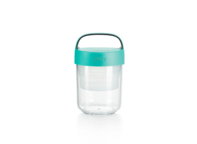 Jar to go 400 ml. Lékué azul