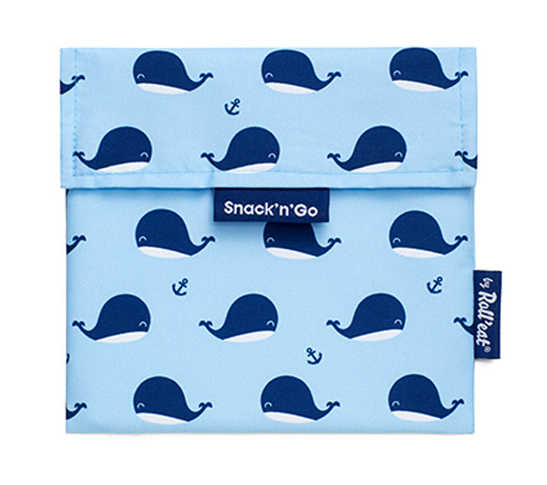 Porta snacks serie animals ballena