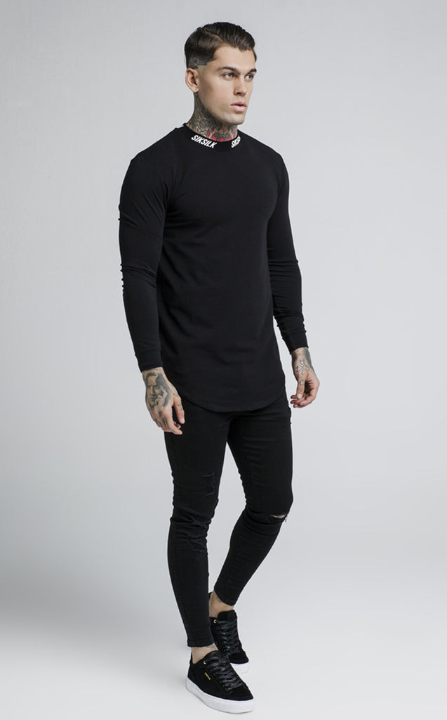 TURTLE NECK - BLACK