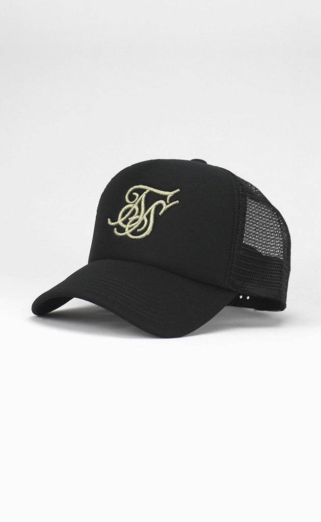 FOAM TRUCKER CAP - BLACK/GOLD