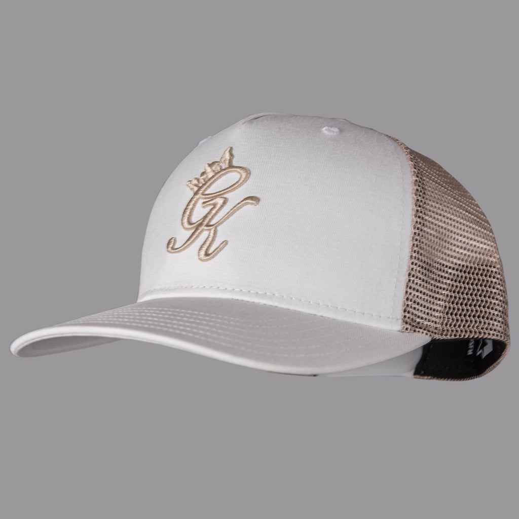 GK SHRIFFIN CAP - WHITE/ECRU