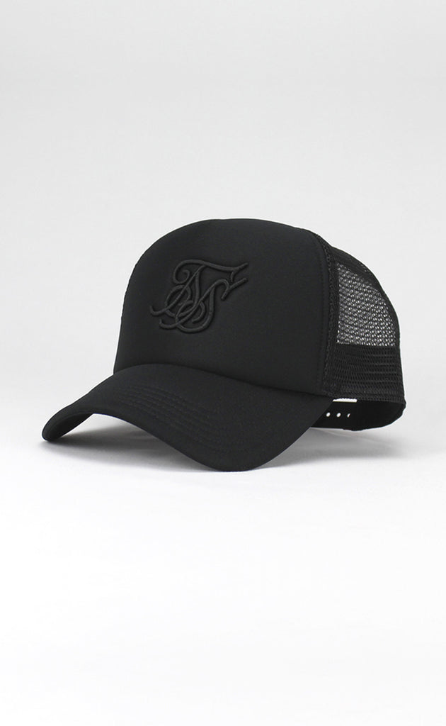 FOAM TRUCKER CAP - BLACK