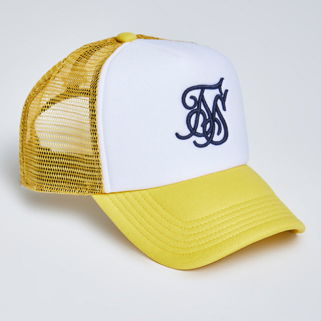 FOAM TRUCKER CAP (YELLOW)