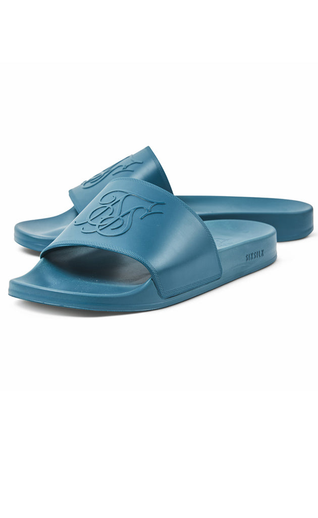 SIKSILK SLIDES - TEAL