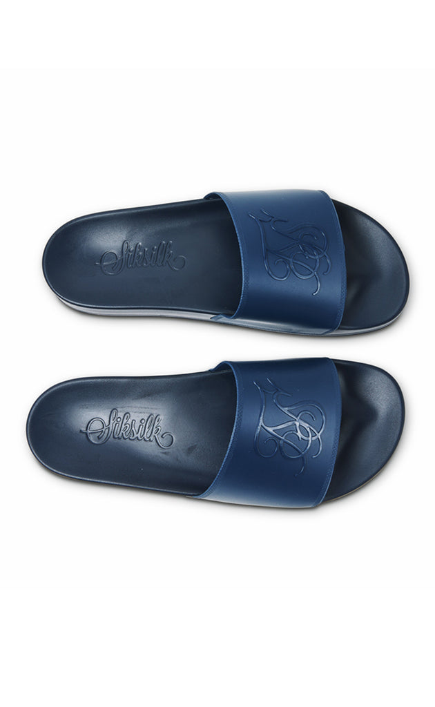 SIKSILK SLIDES - NAVY