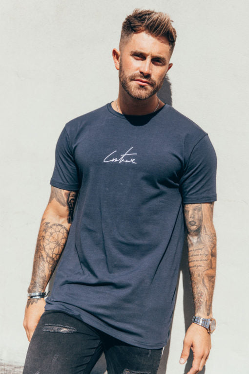 ESSENTIALS TEE - NAVY