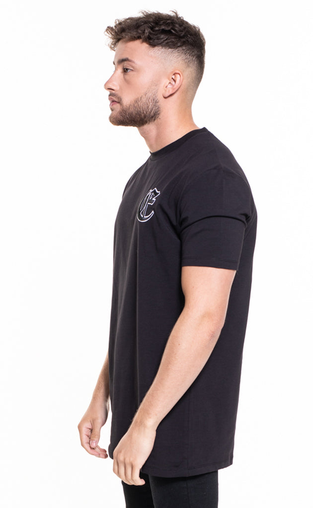 CORE OVERSIZED T-SHIRT - BLACK