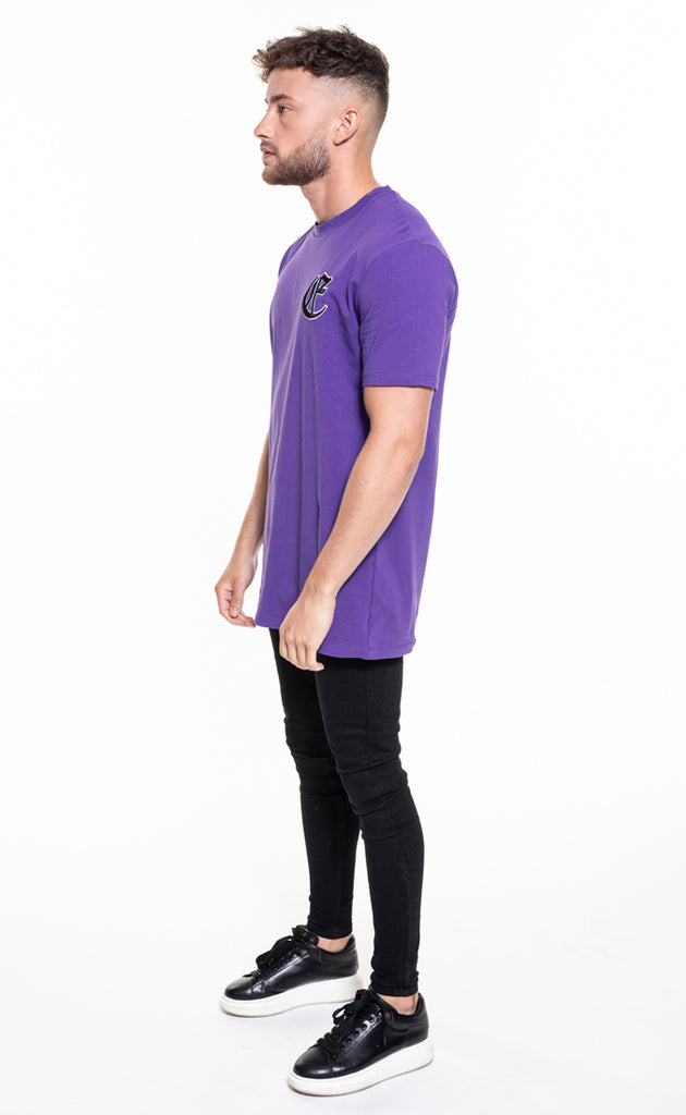 CORE OVERSIZED T-SHIRT - PURPLE
