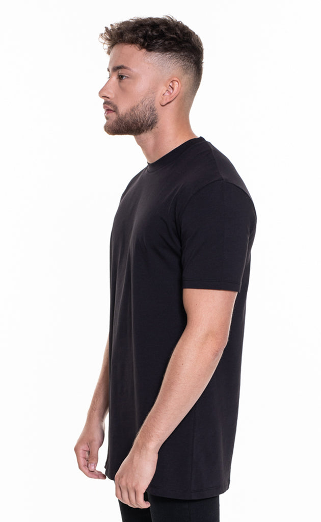 ESSENTIAL OVERSIZED T-SHIRT - BLACK
