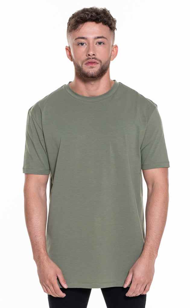ESSENTIAL OVERSIZED T-SHIRT - KHAKI