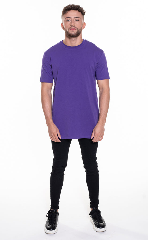 ESSENTIAL OVERSIZED T-SHIRT - PURPLE
