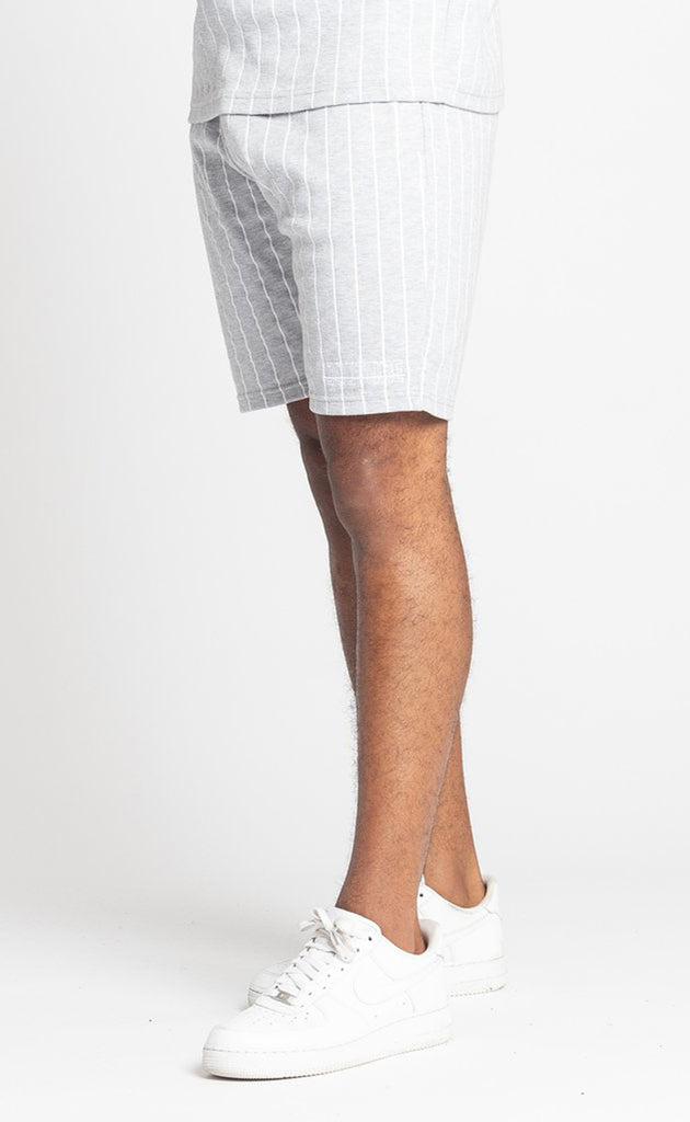 BROUSSE SHORT - GREY/WHITE