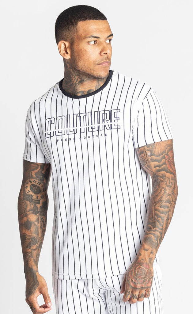 BROUSSE T-SHIRT - WHITE/BLACK