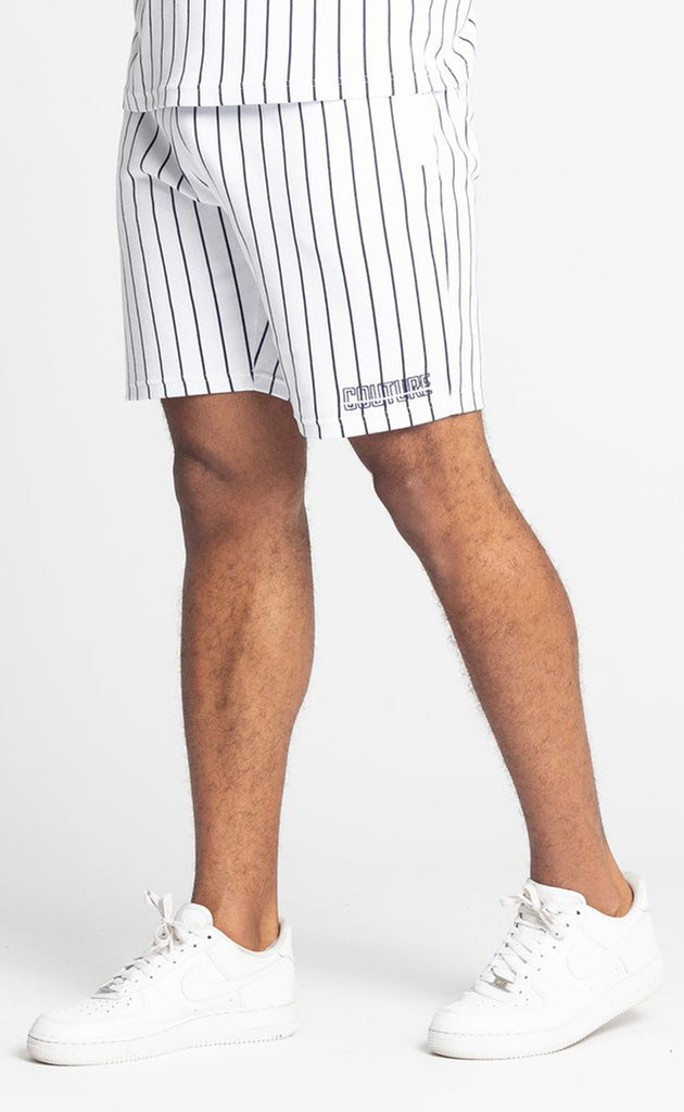 BROUSSE SHORT - WHITE/NAVY