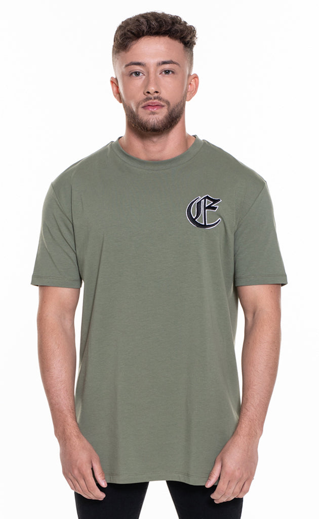 CORE OVERSIZED T-SHIRT - KHAKI