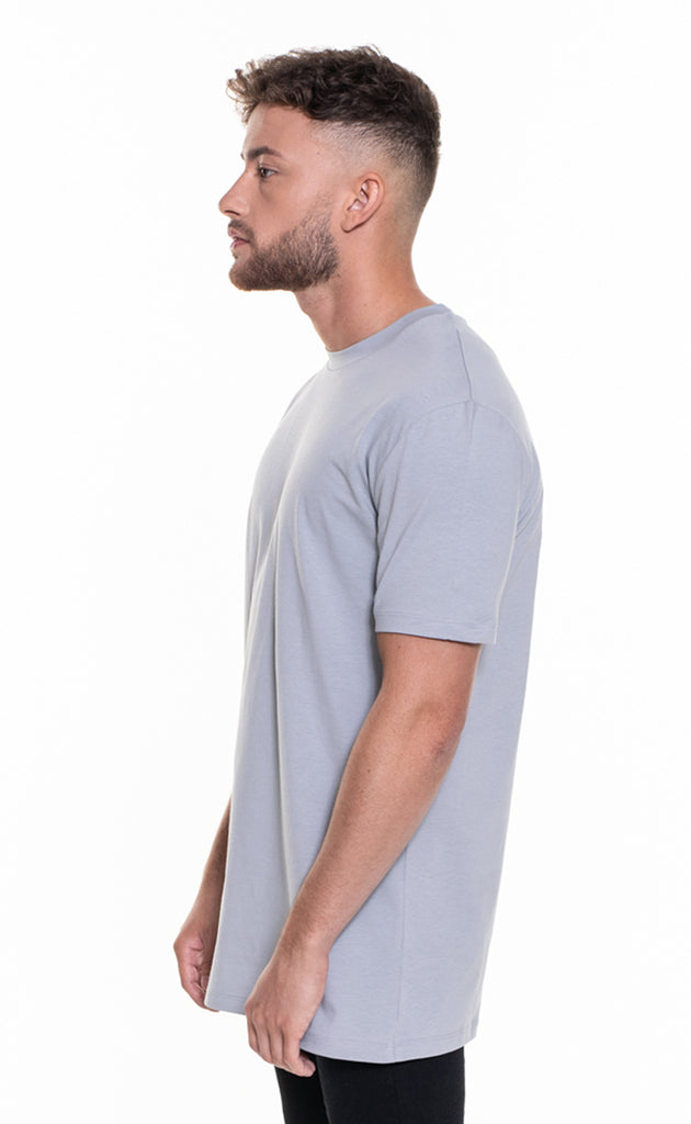 ESSENTIAL OVERSIZED T-SHIRT - RISE GREY