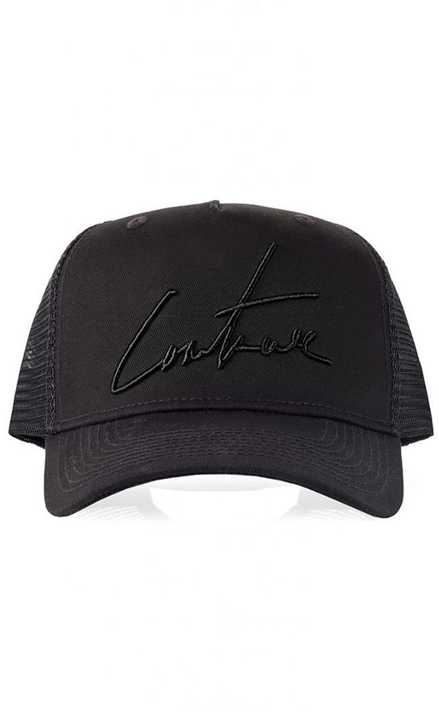 SIGNATURE CAP - BLACK