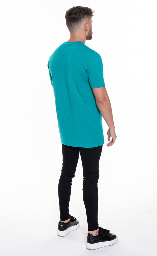 CORE OVERSIZED T-SHIRT - TEAL