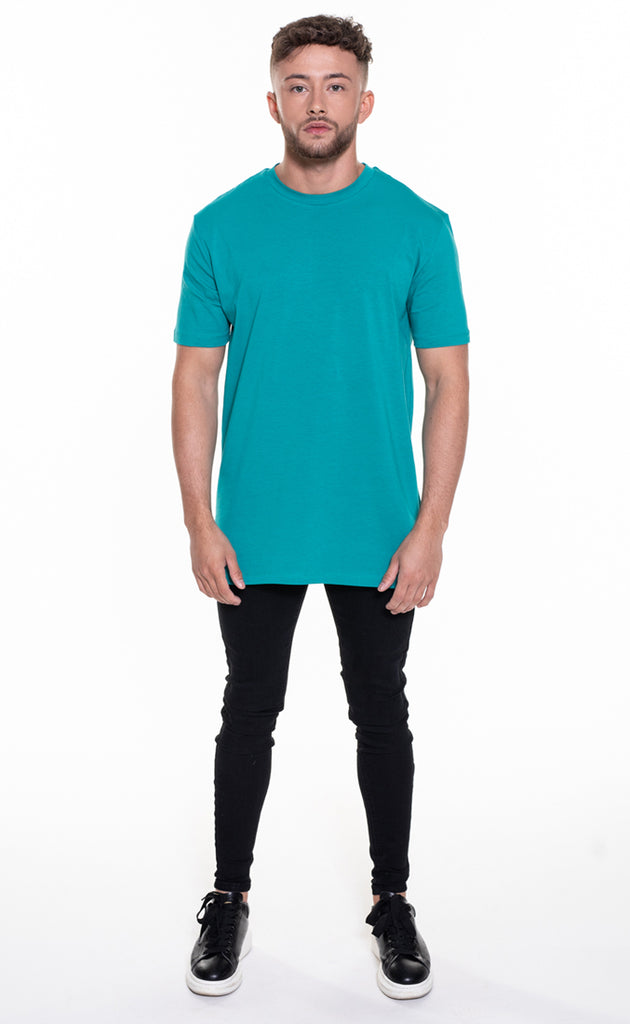 ESSENTIAL OVERSIZED T-SHIRT - TEAL