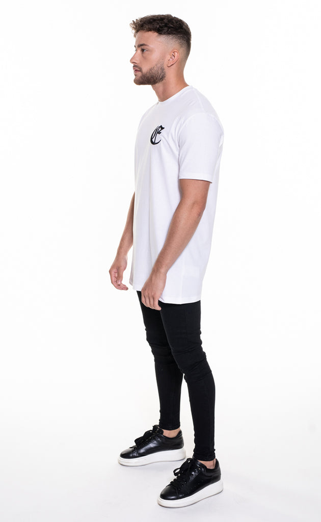 CORE OVERSIZED T-SHIRT - WHITE