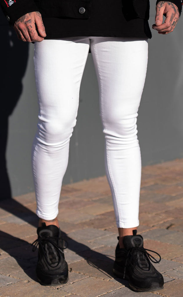 SUPER SPRAY ON JEANS (WHITE)
