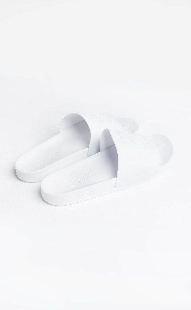 SIKSILK SLIDES - WHITE