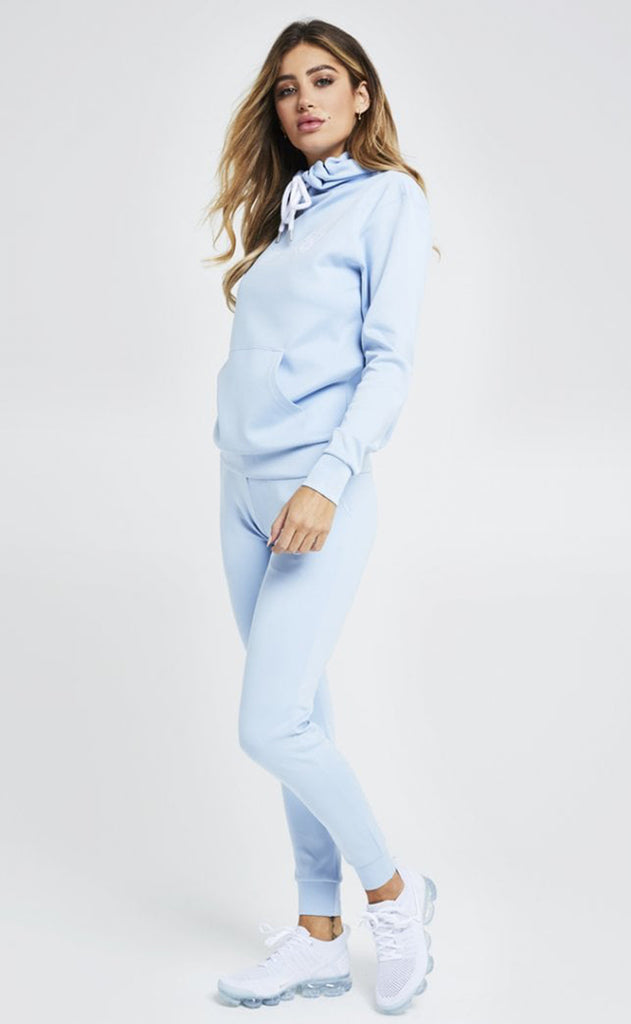 Poly Joggers – Light Blue