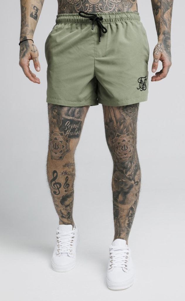 STANDARD SWIM SHORT - KHAKI