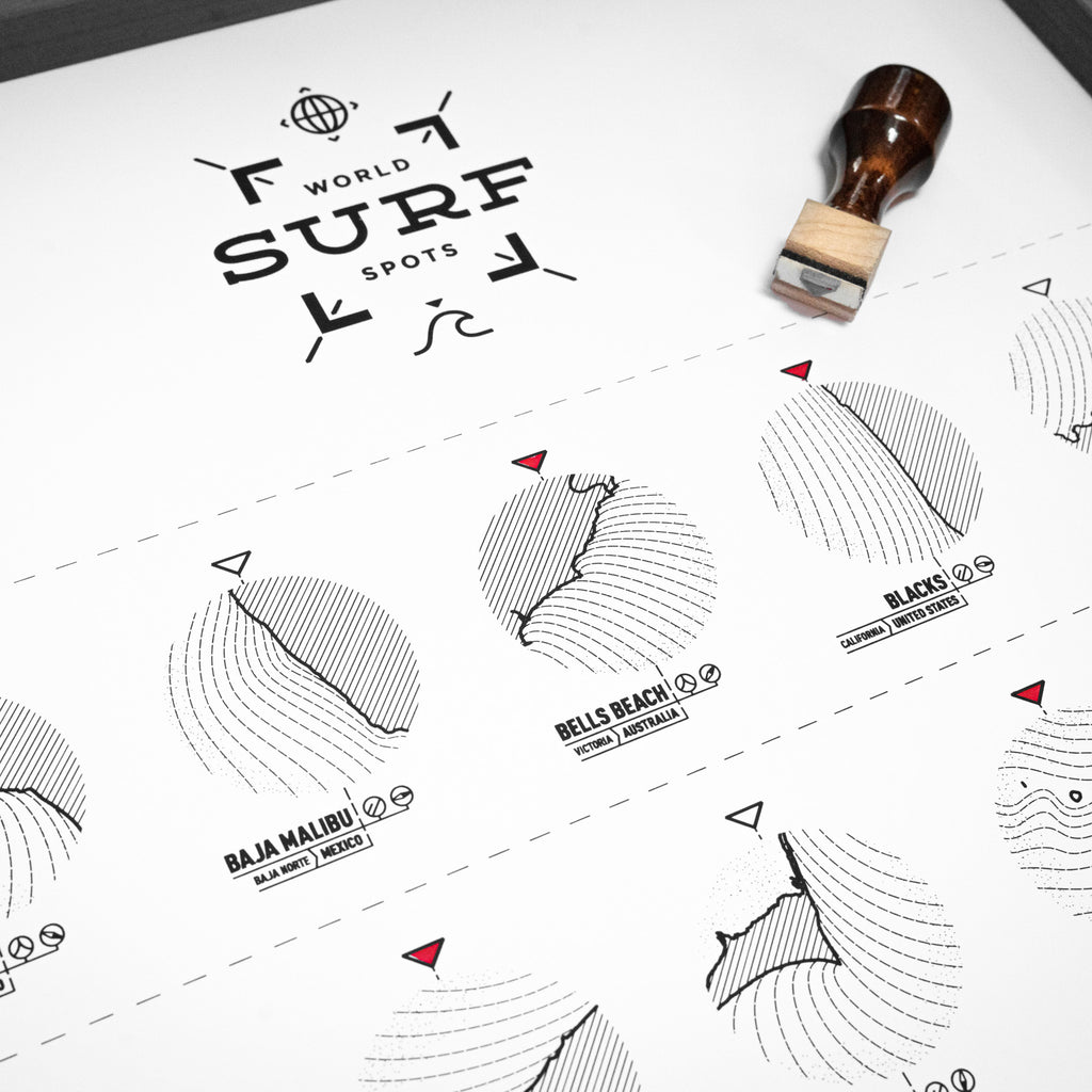 The Surf Register Print