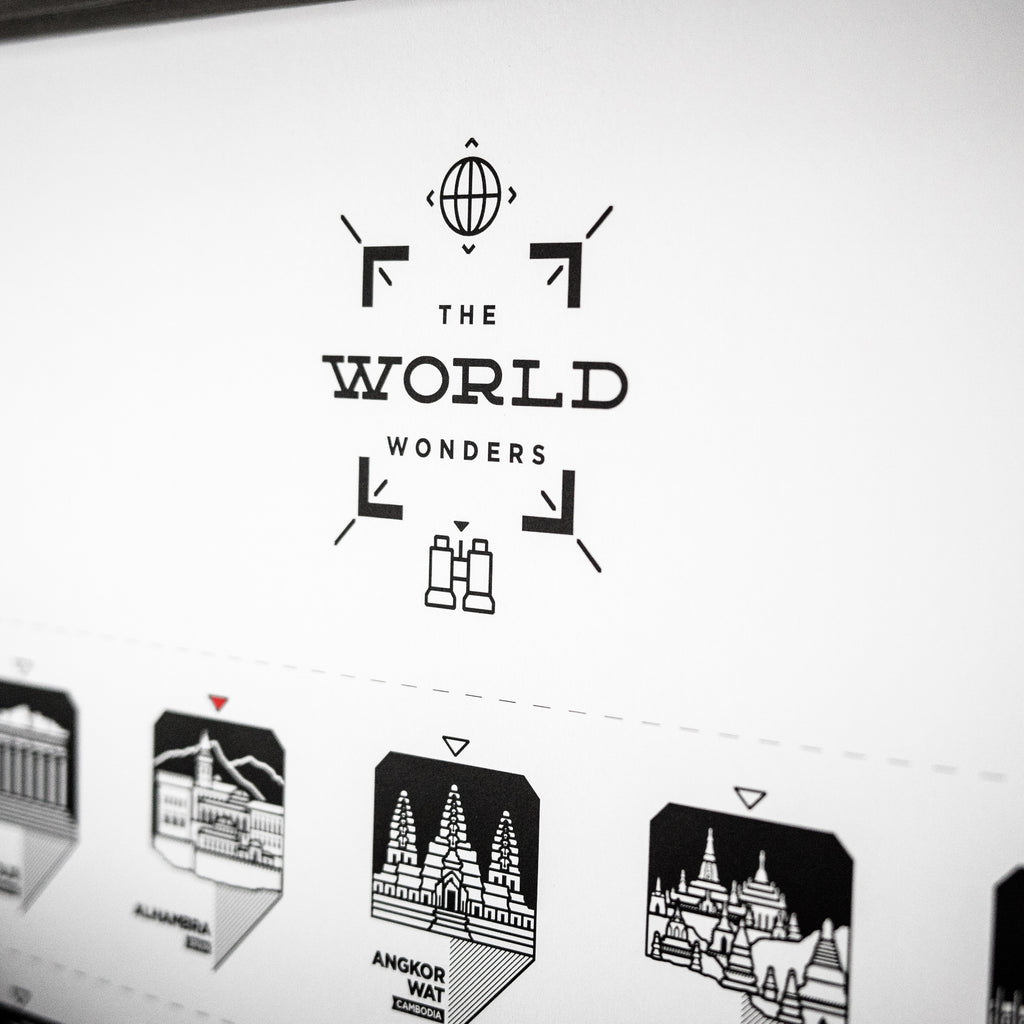 The World Wonders Register Print