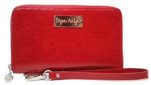 Cherry Red Wristlet