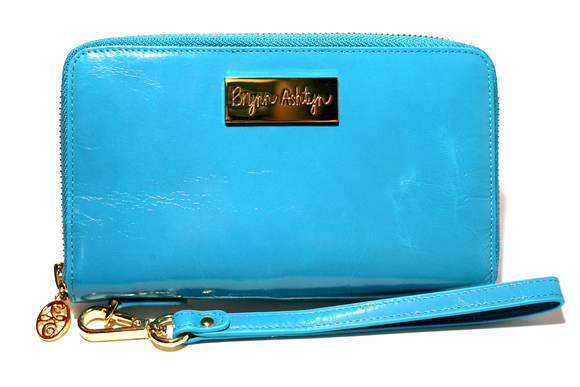 Signature Sky Blue Limited Edition Wristlet
