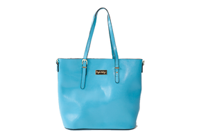 The Hope Collection Tote in Sky Blue