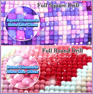 "Square Diamond Drill ""VS"" Round Diamond Drills"