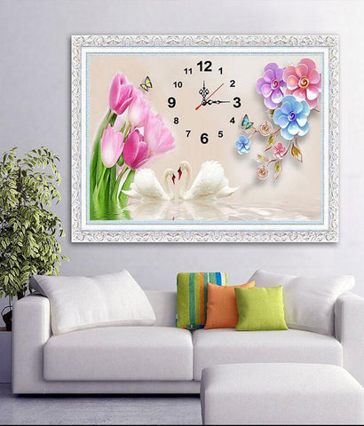 Clock Diamond Paintings